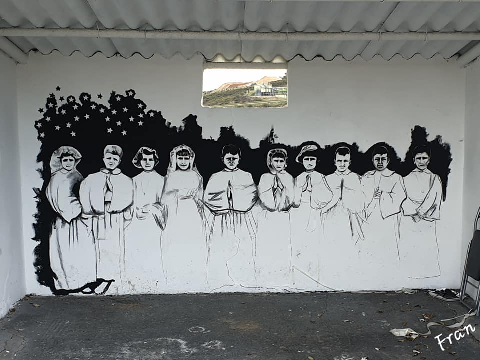 ruta parades marquesina laviana de gozon de la primera comunion y los cultos religiosos